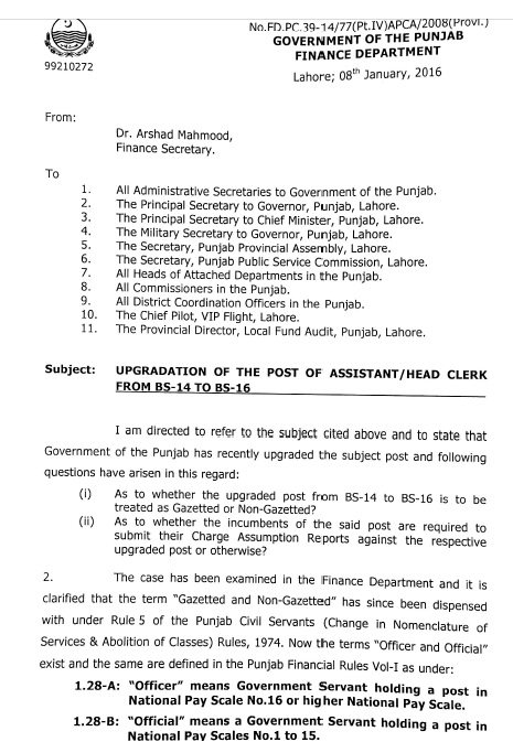 Clarification-Assistant-Gazetted-